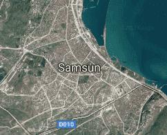 Samsun Uydu Görüntüsü Uydu Haritası