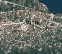 Sakarya Sapanca Uydu Görüntüsü Uydu Haritası