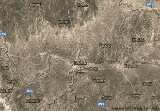 Mardin Savur Uydu Görüntüsü Haritası