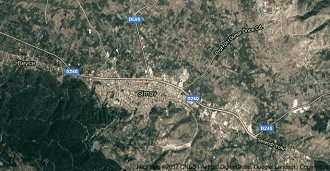 Kütahya Simav Uydu Görüntüsü ve Haritası