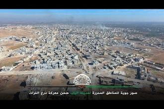 Suriye Elbab Havadan Kamera İzle
