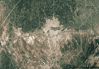 Manisa Turgutlu Uydu Görüntüsü Haritası