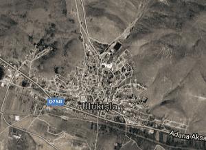 Niğde Ulukışla Uydu Görüntüsü Haritası