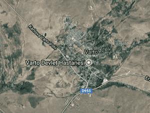 Muş Varto Uydu Görüntüsü Haritası