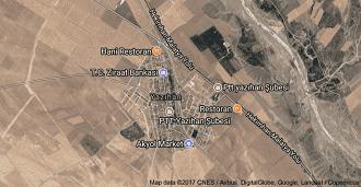 Malatya Yazıhan Uydu Görüntüsü ve Haritası