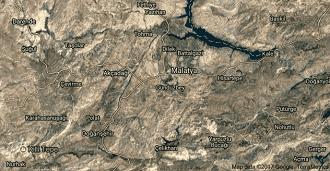 Malatya Yeşilyurt Uydu Görüntüsü ve Haritası