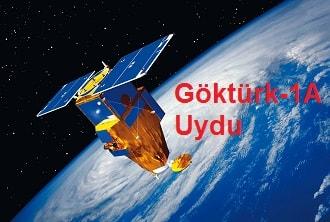 Göktürk-1A Uydu Canlı İzle