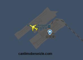 Osaka Kansai Havalimanı Canlı Uçuş Uçak Takibi