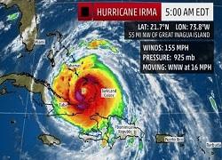 Irma Kasırgası Canlı Mobese Kamera İzle