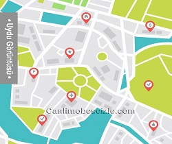 Manisa Şehzadeler 1. Anafartalar Mahallesi Uydu Görüntüsü