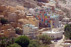 Yemen Wadi Dawan Köyü Uydu Görüntüsü Harita