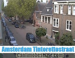 Amsterdam Tintorettostraat canli izle