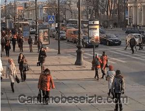 Anichkov Sarayı canli mobese izle