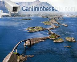 Norveç Atlantic Ocean Road canli izle