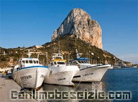 Calpe Puerto Blanco Yat Limanı canli izle