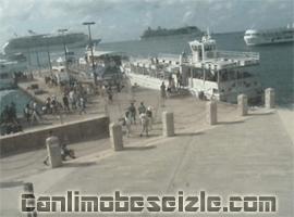 Cayman Adaları Limanı canli izle