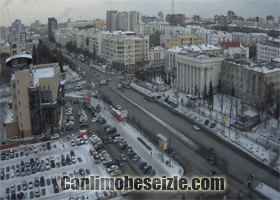Chelyabinsk Sverdlovsk kavşak canli izle