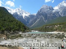 Dragon Kar Dağı Lijiang canli izle