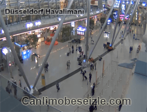 Düsseldorf Havalimanı İçi canli izle
