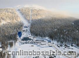 Finlandiya Levi Kayak Merkezi canli izle