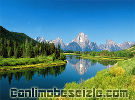Grand Teton Ulusal Parkı canli izle