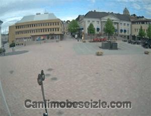 İsveç Harnosand Meydanı canli