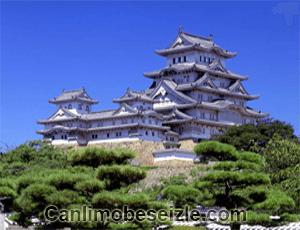 Japonya Himeji Şatosu mobese canli izle