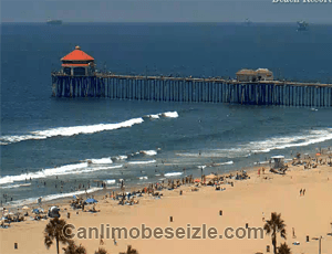 Huntington Plajı mobese canli izle