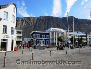 İzlanda Isafjordur canli izle