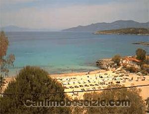 Yunanistan Kalogria Plajı canli izle