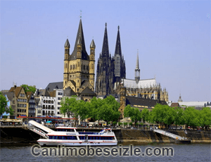 Köln Katedrali mobese canli izle