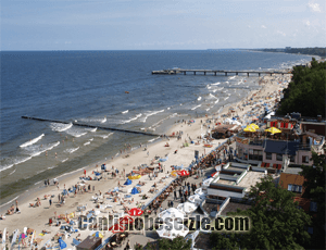 Polonya Kolobrzeg Plajı canli izle