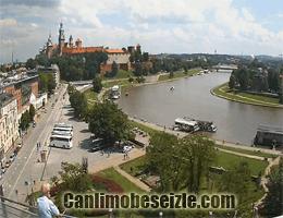 Krakow Wawel canli izle