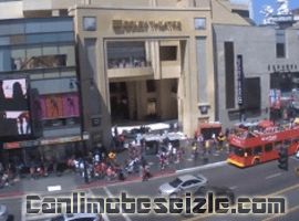 Los Angeles Hollywood Bulvarı Canlı Mobese İzle
