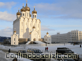 Magadan Katedral Meydanı canli izle