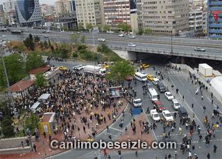 Mecidiyeköy Meydanı canli izle