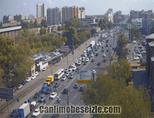 Moskova Ring Road kavşağı canli izle