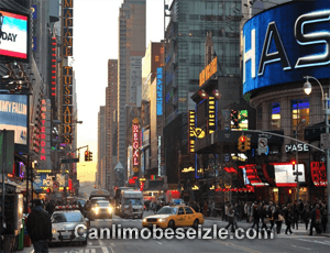 New York 42nd Street Broadway canli izle