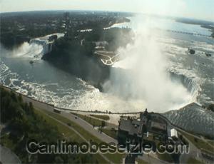 Niagara Şelalesi Panoramik canli izle