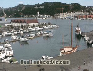 Norveç Sandnes Limanı canli izle