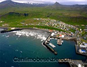 İzlanda Olafsvik Limanı canli izle