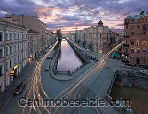 Petersburg Griboyedov Kanalı canli izle