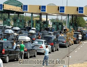Sırbistan Macar Röszke Gümrük Sınır Kapısı Canli izle