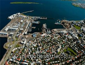 İzlanda Reykjavik Limanı canli izle