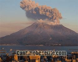 Sakurajima Yanardağı canli izle