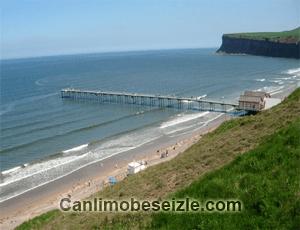 İngiltere Saltburn Sahili mobese canli izle