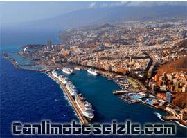 Santa Cruz Tenerife Limanı canli izle
