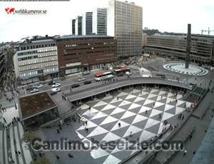 Stockholm Sergels Meydanı canli izle