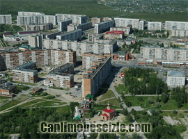 Strezhevoy Şehir Merkezi canli izle