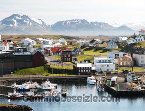 İzlanda Stykkisholmur liman canli izle